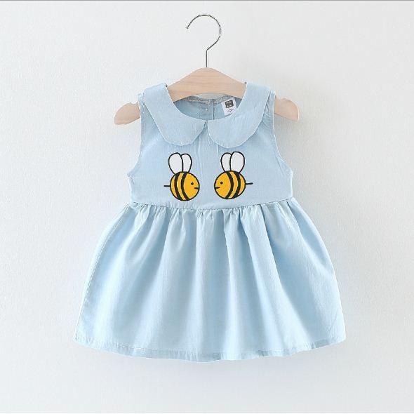 Váy đầm bé gái 7-14kg hàng Quảng Châu D364
