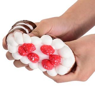 Đồ chơi hình bánh kem dâu đáng yêu giúp giảm căng thẳng |Loamini565
