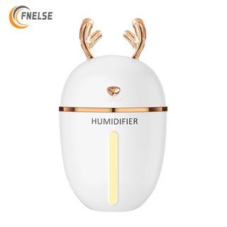 Máy phun sương Fnelse khuếch tán tinh dầu duy trì độ ẩm không khí tích hợp đèn led tiện dụng