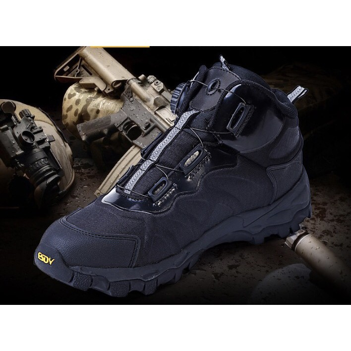 ESDY Tactical Giày Boot phượt Giày Lính
