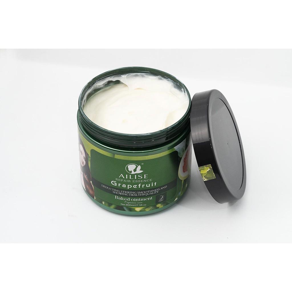 Kem ủ tóc tinh chất bưởi đỏ AILISE REPAIR ESSENCE GRAPEFRUIT Karseell 800ml
