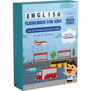 Flashcards - Bộ thẻ học Tiếng Anh chủ đề Phương tiện giao thông - Dành cho trẻ 6-10 tuổi thumbnail