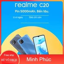 [Mã ELMSHX03 hoàn 6% xu đơn 2TR] Điện Thoại Realme C20 (2-32G) – Hàng Chính Hãng