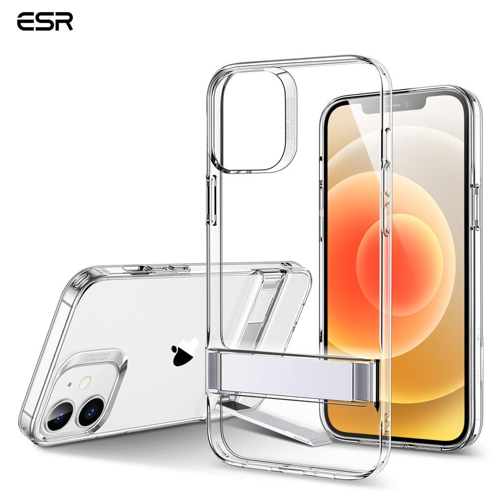 Ốp điện thoại dẻo ESR bằng TPU trong suốt cho iPhone 12 mini/12/12 Pro Max 12/12 Pro 2020 6.1-Inch