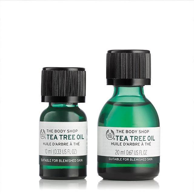 Tinh dầu Tràm trà Trị mụn, kháng khuẩn The Body Shop Tea Tree Oil