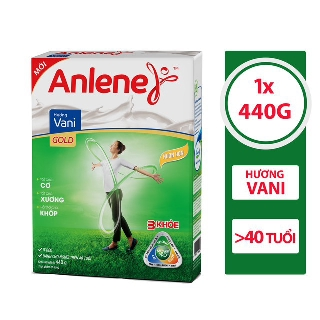 Sữa bột Anlene 3 khỏe Gold Movepro Hộp 440g