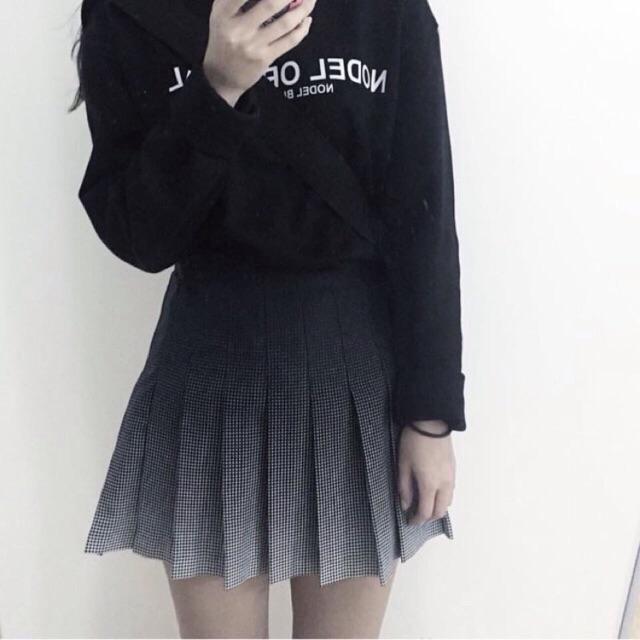 Chân váy ombre Hàn Quốc