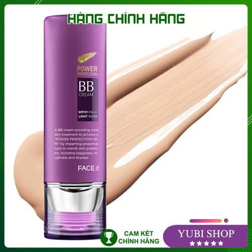 [HÀNG AUTH] KEM NỀN BB CREAM FACE IT - Kem nền BB cream Face it Power Perfection 40g