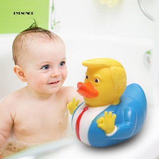 ♕Creative PVC Squeaky Duck Animal Pool Tub Bath Water Floating Baby Kids Toy