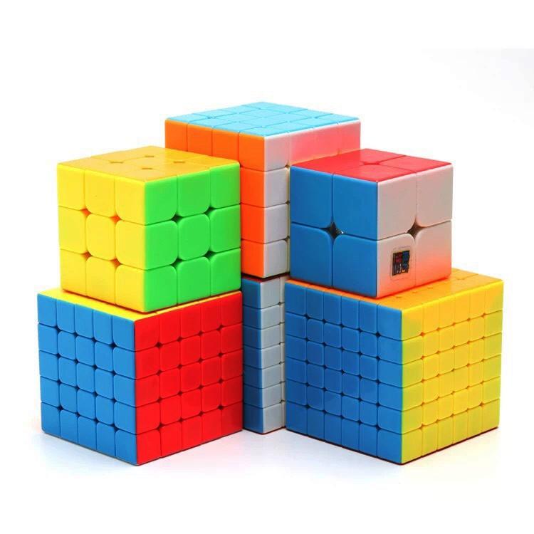 Rubik 2x2, 3x3, 4x4, 5x5, 6x6, 7x7, Rubik Megaminx, Skewb, Square-1, Rubik Tam Giác - Rubik Không Viền Cao Cấp
