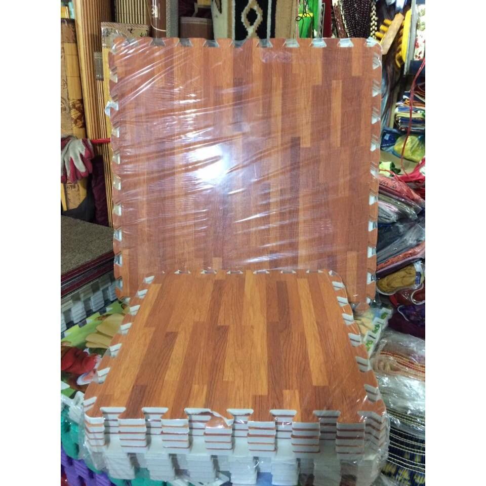 Thảm xốp ghép vân gỗ kích thước 60x60 - 3414248 , 669873614 , 322_669873614 , 129000 , Tham-xop-ghep-van-go-kich-thuoc-60x60-322_669873614 , shopee.vn , Thảm xốp ghép vân gỗ kích thước 60x60