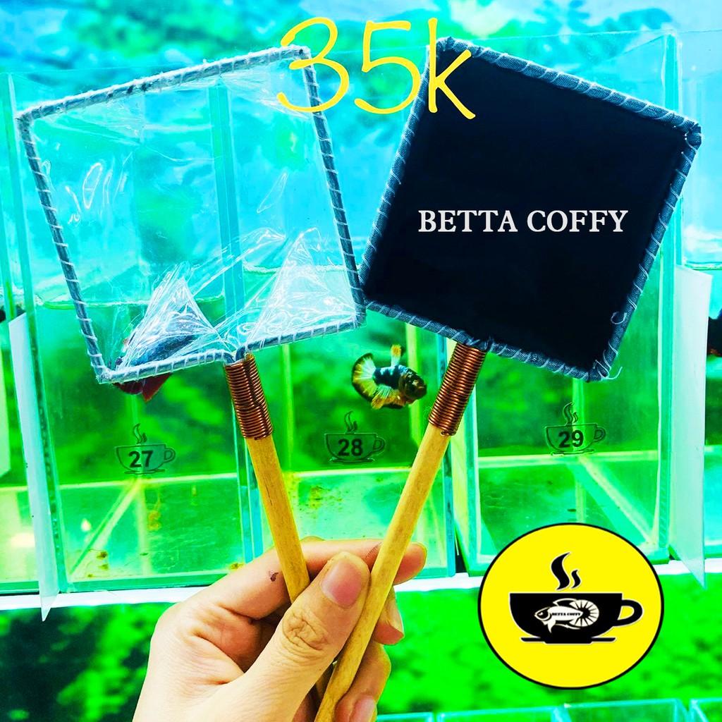 🛀 Vợt Nước vớt cá Betta - Guppy - Show cá