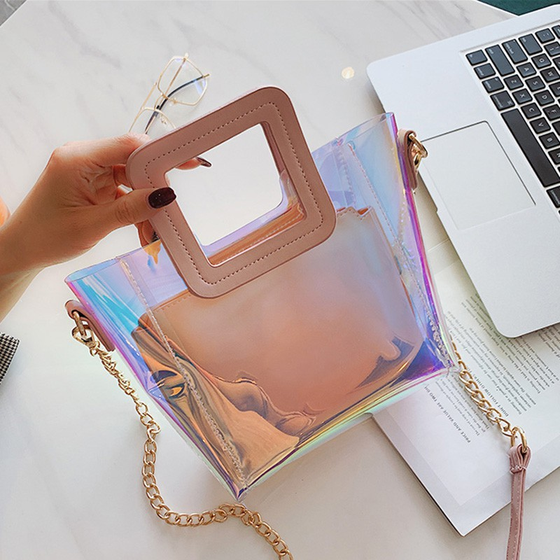 2019 new bag female ins handbag high-grade female bag chain
