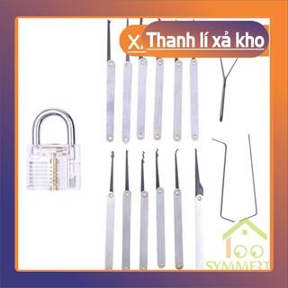 Bộ 17 dụng cụ tập tháo khóa chuyên dụng