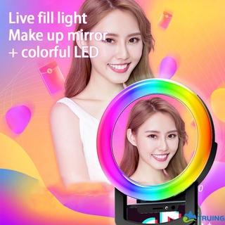 Đèn Led Tròn Gắn Điện Thoại Hỗ Trợ Chụp Ảnh Selfie
