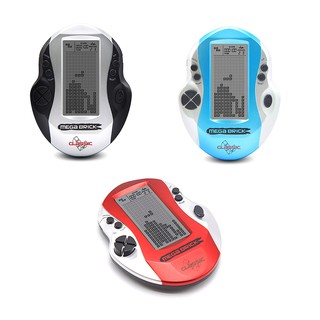 Retro classic handheld led game players with built in 26 games