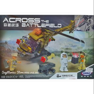 LEGO Lắp Ráp Máy Bay Trực Thăng Quân Sự – XingBao XB-06013 ( 425 Mảnh )