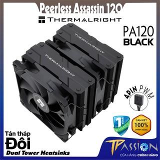 Tản nhiệt khí CPU Thermalright Peerless Assassin 120 BLACK WHITE PA120 - Chính hãng thumbnail