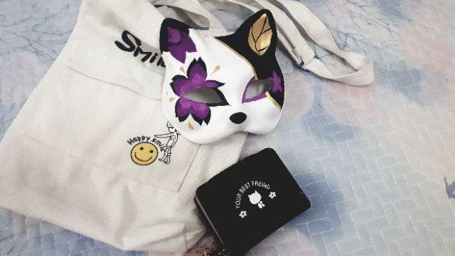 Kitsune - Mặt nạ cáo (Thiên thần đen - Hoa anh đào - Tình đầu)