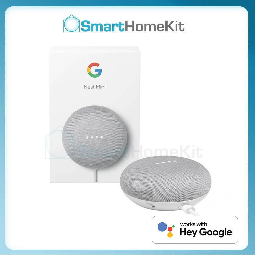 Loa thông minh Google Nest Mini (thế hệ 2) - phát nhạc và điều khiển bằng giọng nói