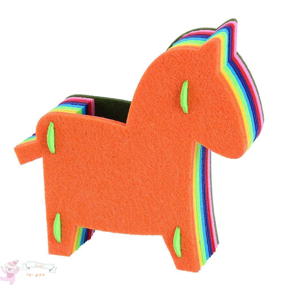 ✥JFY✥DIY Educational Toys Gift EVA Baby Hand Handmade Felt Fabric Craft Kits Toy