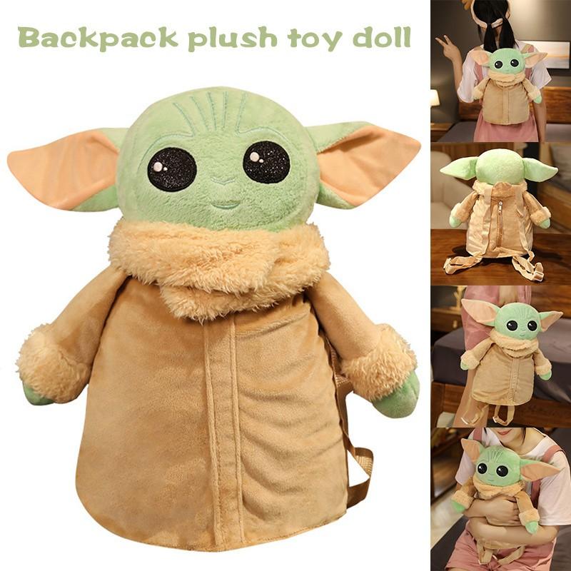 Ba Lô Hình Yoda Nhồi Bông Đáng Yêu Cho Bé