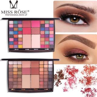 Kit trang điểm 48 màu mắt,4 phấn má hồng và 2 phấn nền Miss Rôse MR14Y thumbnail