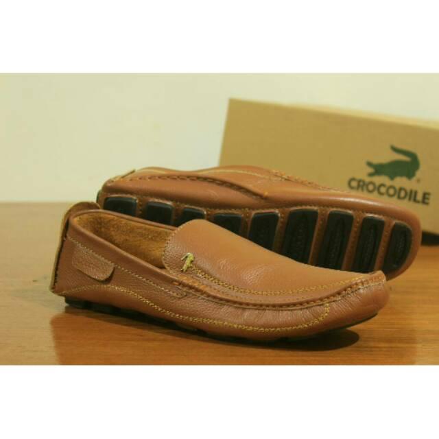 Giày Lười Da Cá Sấu Sang Trọng Cho Nam