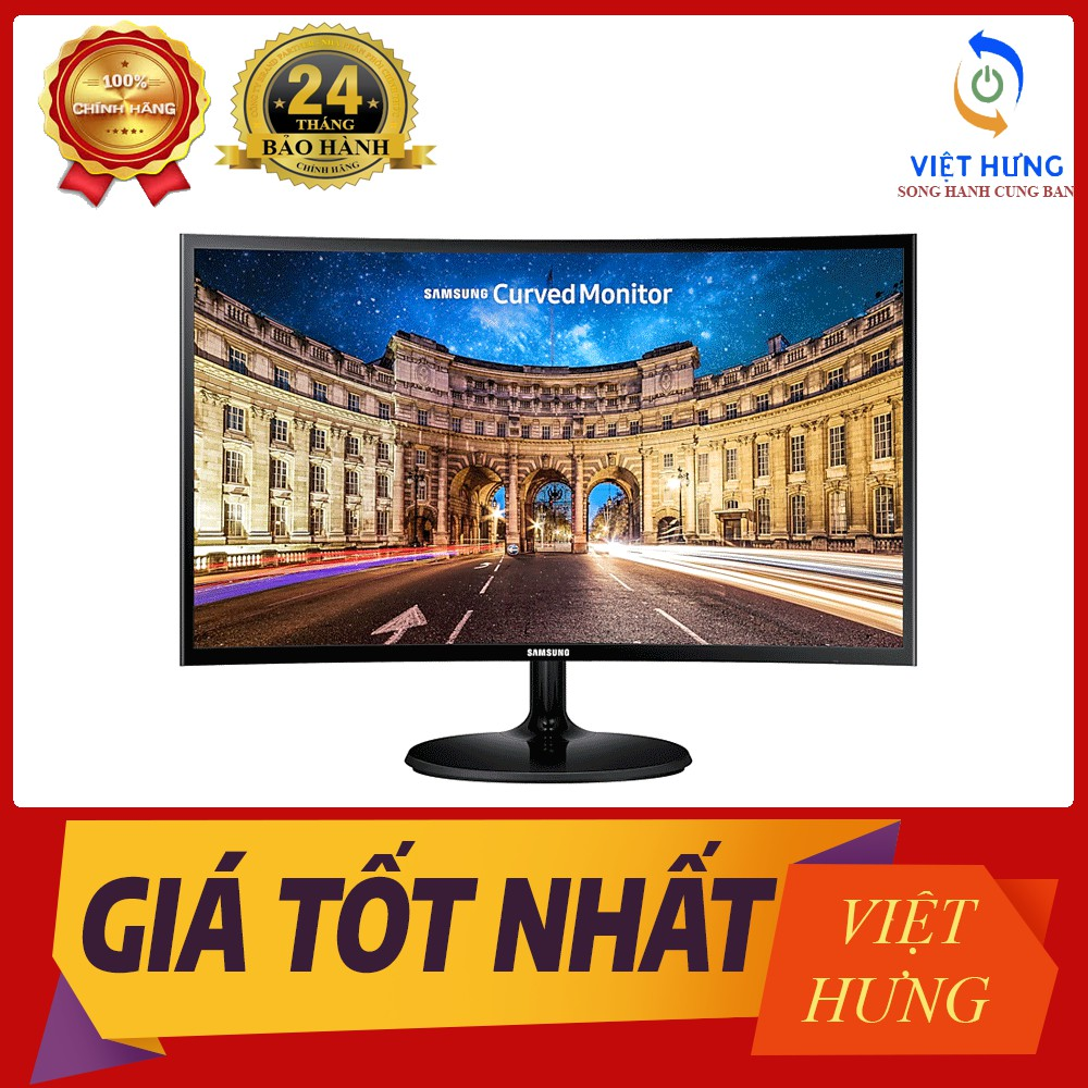 (Deal sốc) Màn hình Samsung 24 inch cong LC24F390 (24 inch/FHD/LED/PLS/250cd/m²/HDMI+VGA/60Hz/5ms) - giảm giá 39%