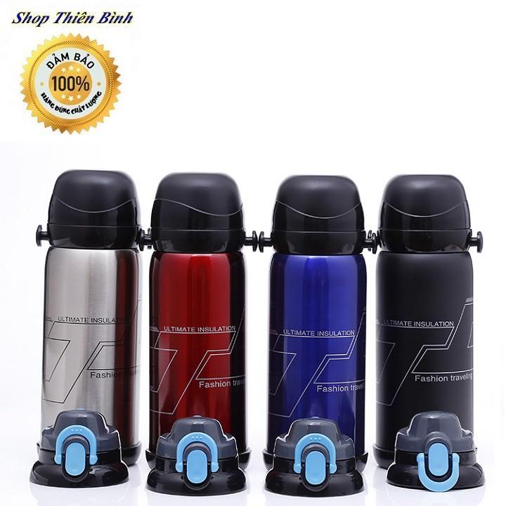Bình giữ nhiệt Inox 3 lớp cao cấp 304 Vacuum Pot Style