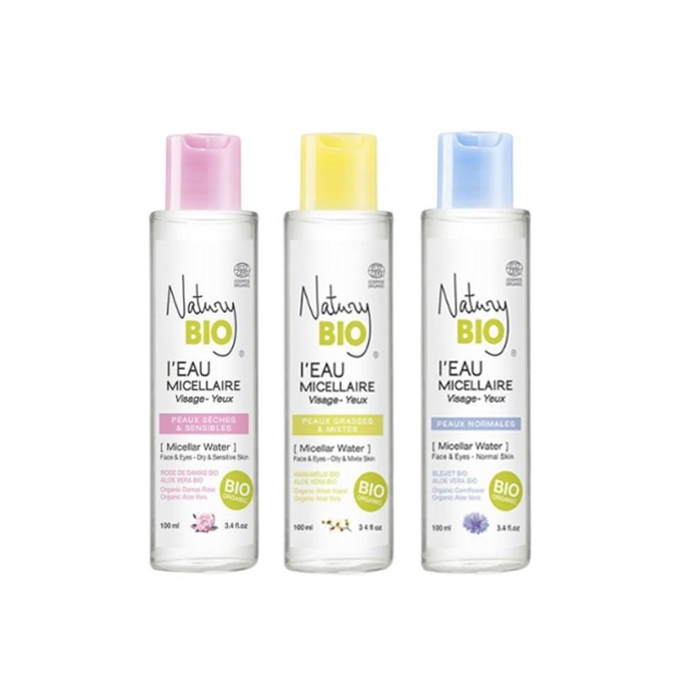 Nước tẩy trang hữu cơ - 100% Organic làm sạch sâu deep cleaning even for skin Natury Bio 100ml