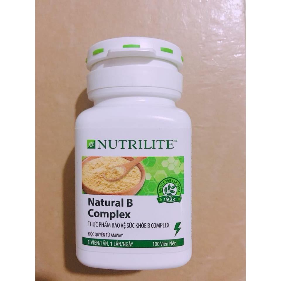 Thực phẩm bổ sung Vitamin B Amway, (Vitamin B Nutrilite) (100 viên)