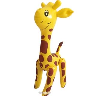 Animals Cartoon Children Giraffe Design Large Party Inflatable Toy