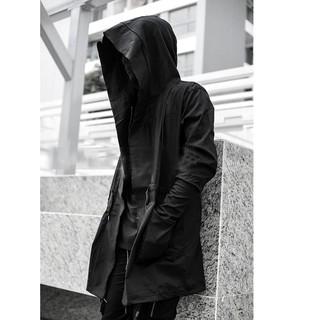 Áo khoác jacket kaki dáng dài MAKVN
