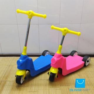 Xe trượt Scooter năng động màu hồng