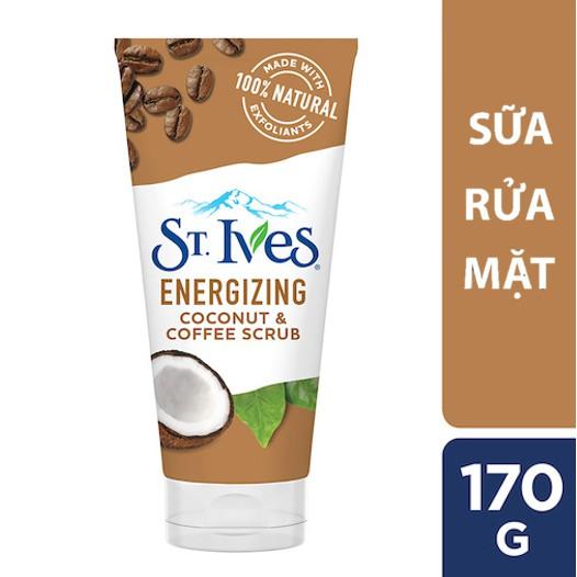 Sữa rửa mặt St.Ives dừa và cà phê 170g
