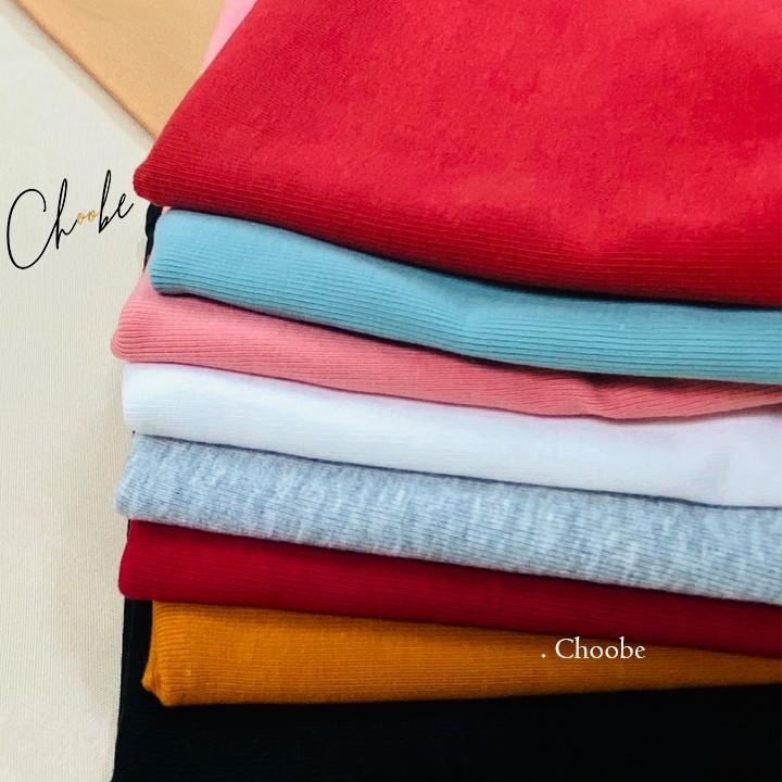 Mặc gì đẹp: Gợi cảm với Áo kiểu 2 dây choobe nữ dáng ôm vải cotton co giãn có chốt điều chỉnh nhiều màu sắc A11