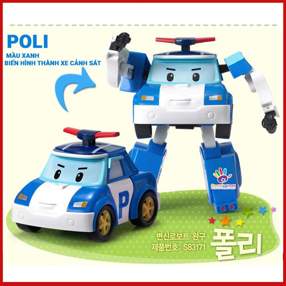 [HÀNG LOẠI 1] Bộ 6 Xe Robocar Poli biến hình