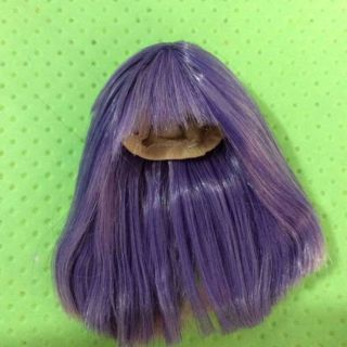 Wig bjd 1/8 , handmade