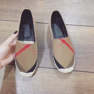 Giày slip on cói full box sale