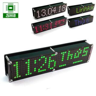 Đồng hồ led để bàn Matrix 8x40 V2 - Xanh lá