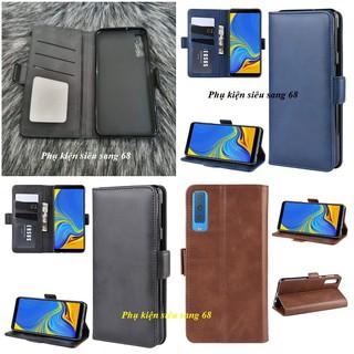 A7 2018|| Bao da PU Gấp 2 mặt Samsung Galaxy A7 2018 – PK68