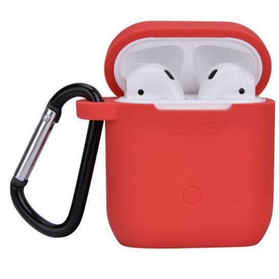 Bao Đựng Tai Nghe Airpod Silicon Đa Sắc Mầu - Ốp Airpods Tiện Dụng, Nhỏ Gọn- Có Móc Khoá (Giao Ngẫu Nhiên)