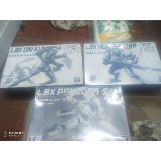 Mô hình lắp ráp hãng bandai đấu sĩ LBX Oni Kunoichi , Hunter Kiba , Pandora