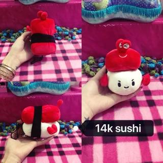 Sushi nhồi bông 14k