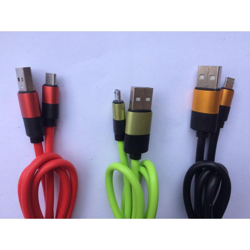 Cáp micro USB dây cao su 2a - 2509143 , 843468744 , 322_843468744 , 36000 , Cap-micro-USB-day-cao-su-2a-322_843468744 , shopee.vn , Cáp micro USB dây cao su 2a