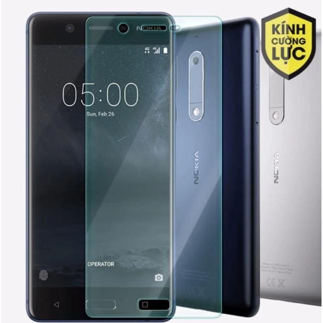 Miếng dán kính cường lực Nokia 5 trong suốt Glass