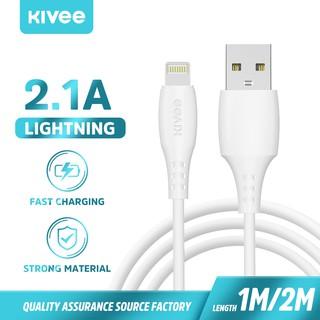 [ Chính Hãng Kivee ] Dây Sạc Nhanh CT310 Type-C Micro USB Lightning Dành Cho Iphone Samsung Xiaomi loại 2.1A 1M thumbnail