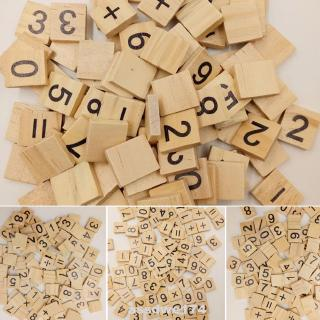 Kids DIY Numbers Wooden Early Learning Educational Toy