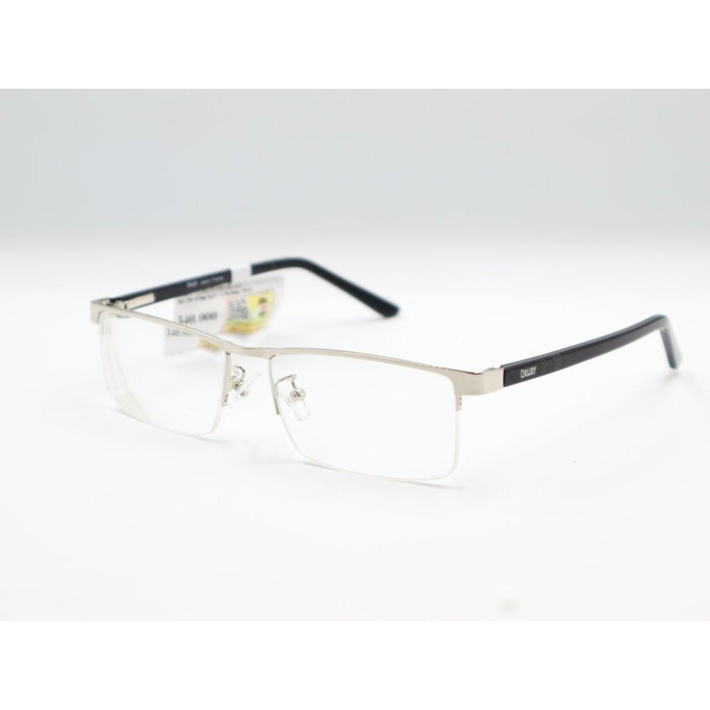 Kính cận Druby D1015 từ -0.50 đến – 8.00 độ màu bạc